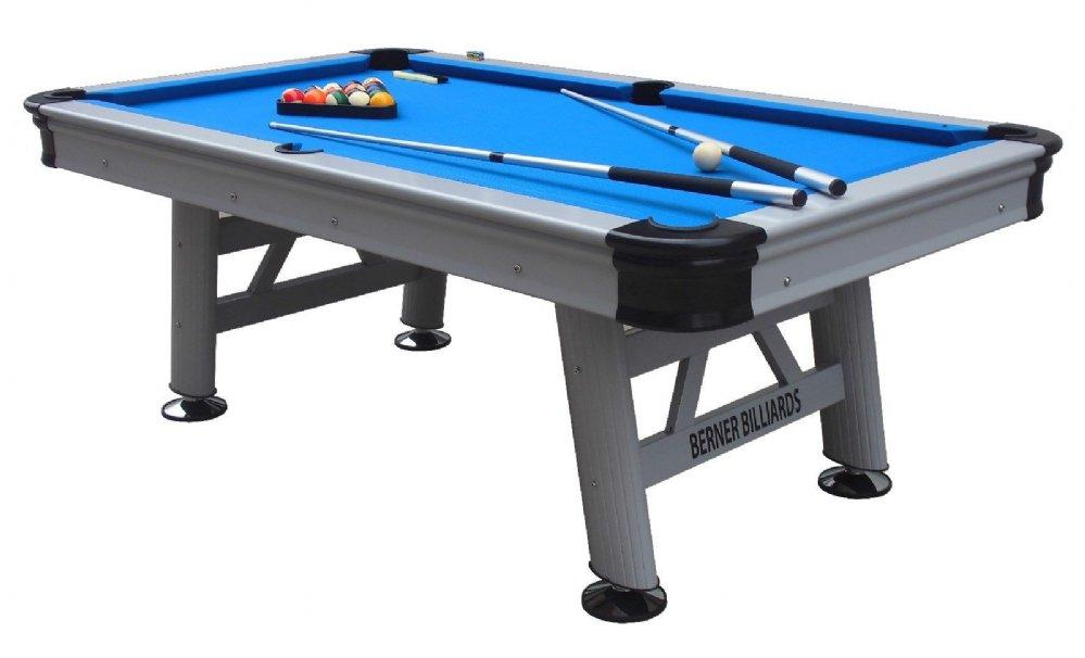Berner Billiards Orlando 8 Foot Outdoor Pool Table Orl8