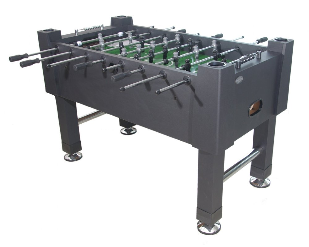 Berner Billiards Quot The Player Quot Foosball Table In Black With